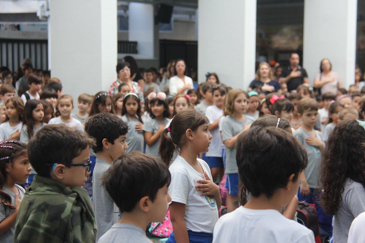 Cerimônia cívico-religiosa marca abertura do mês Agostiniano